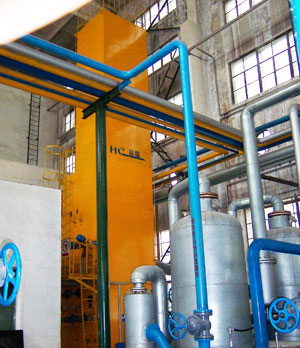 Energy-saving compact air separation plant